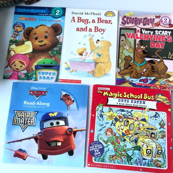Little Boy Books Curious George Cars umizoomi